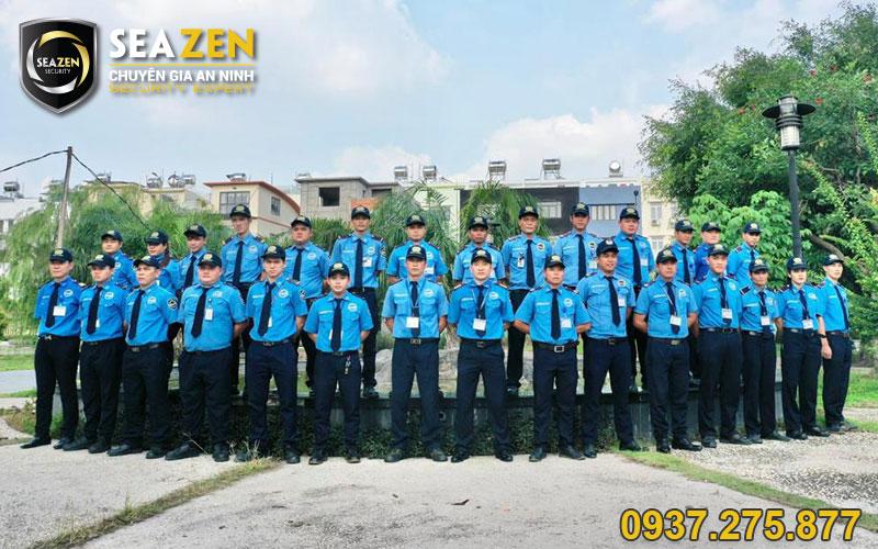 Bố trí lực lượng bảo vệ 24/24 để đảm bảo an ninh và tài sản tạo mục tiêu cố định
