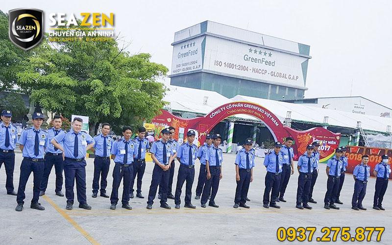 Bảo vệ an ninh sự kiện, event, lễ khởi công nhà máy - SeaZen Security
