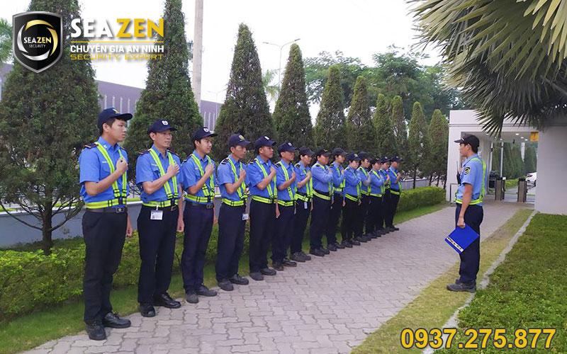 Thường xuyên đào tạo nghiệp vụ và kỹ năng cho nhân viên bảo vệ