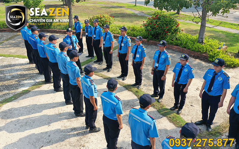 SeaZen có đội ngũ bảo vệ chuyên nghiệp và tận tâm