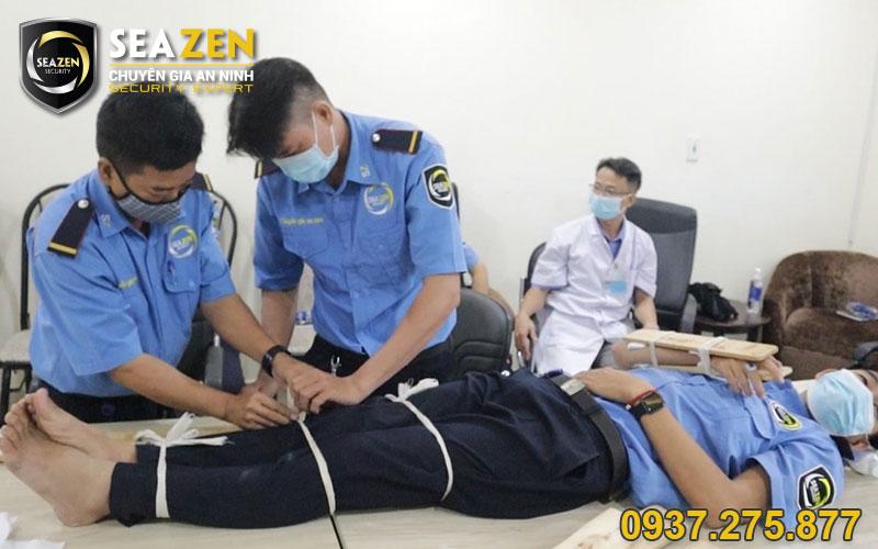 SeaZen huấn luyện kỹ năng sơ cấp cứu khi cần thiết cho bảo vệ