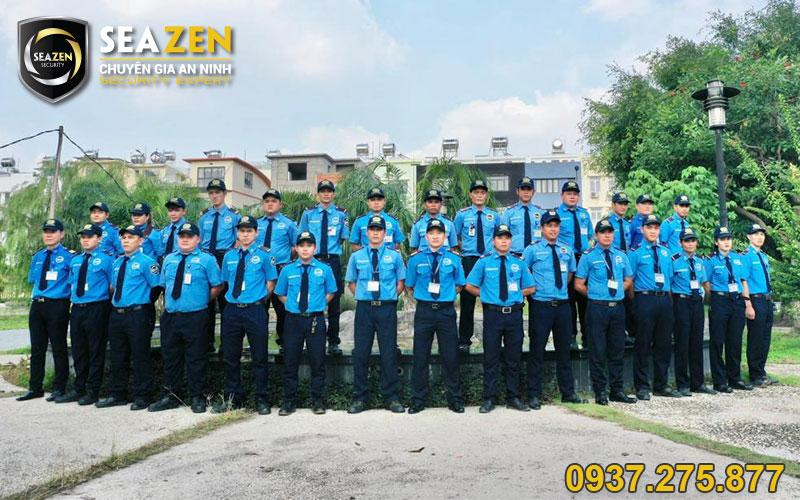 Công ty bảo vệ SeaZen có đội ngũ nhân viên chuyên nghiệp và chất lượng nhất hiện nay